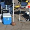EZ Fan Foot Chargers Tailgate