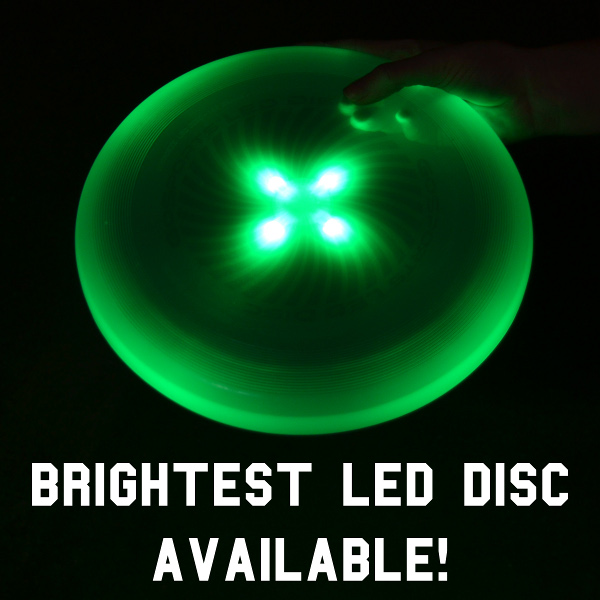 Brightest LED Disc Available
