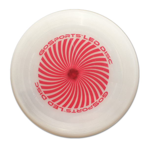 Red disc unlit