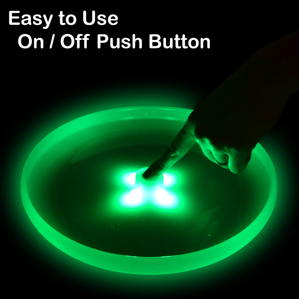 Disc turn on/off