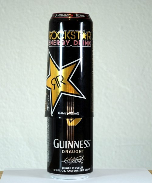Guiness beer can cover