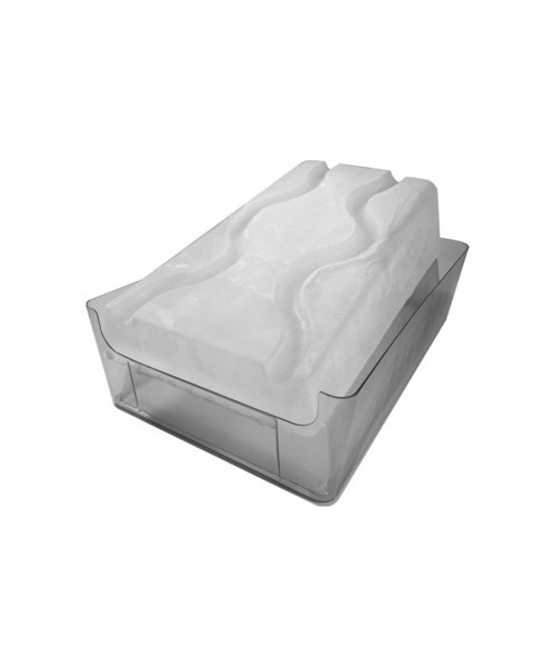 King Luge Booze Luge Ice Mold side view