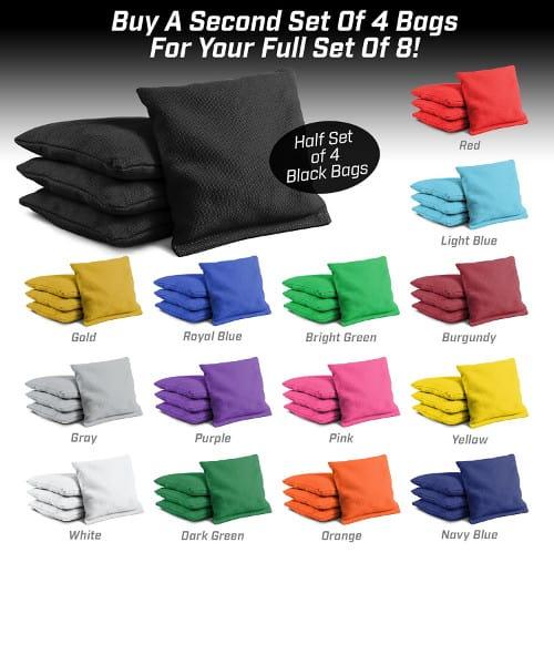 Cornhole bags colors availability