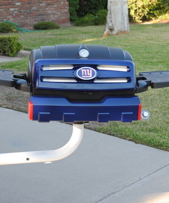 New York Giants custom tailgating grill