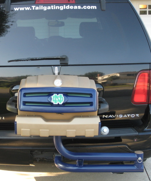 Notre Dame custom tailgating grill